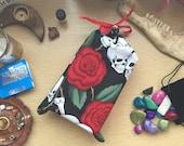 Tarot Bag! Skull and Rose...