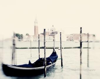 Gondola photography, Venice photography, Venice wall art, Venice fine art print, Italy travel photography, home decor, Italian wall decor