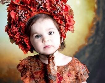 Autumn Tones Bonnets #sittersize