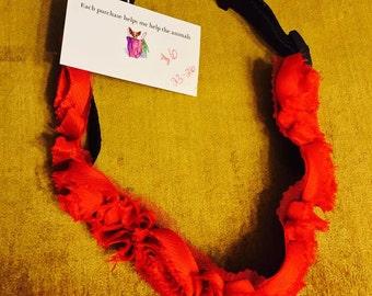 Rose Custom made dog collar