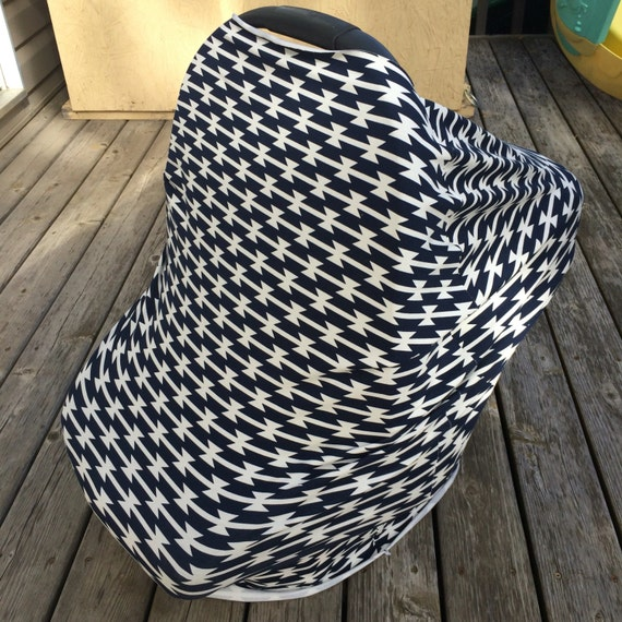 stretchy car seat cover canopy gender neutral also. Black Bedroom Furniture Sets. Home Design Ideas
