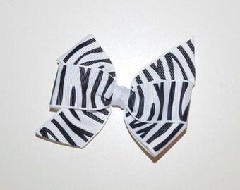 Zebra Bow