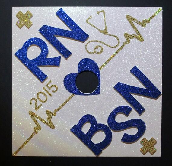 Bsn Rn Custom Nurse Graduation Cap Topper Customize The