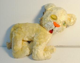 EXTREMELY RARE!! Vintage STEIFF? Lion Stuffed Animal