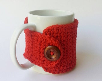 Red Coffee Cozy Cotton