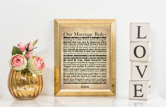 Quirky Wedding Gifts Uk: Unusual Wedding Gift Vintage Mr & Mrs Unique Gift Our Marriage