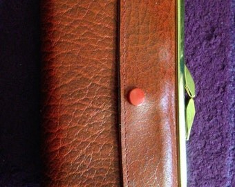 vintage ladies leather purse great condition