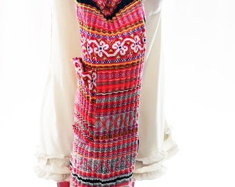 YOGA MAT BAG Yoga Bag Yoga Tote Yoga Bag Women Handmade Embroidered Pieces Of Tribal Costume.Backpack and Handbags.( 2in1 )035