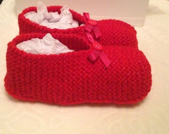 25 % off Knitted slippers, (4uk), 25 percent off, slipper socks,
