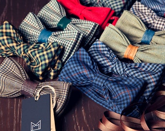 Custom Bow Tie, Personalized Bow Tie, Wedding Bow Ties, Groomsmen Bow Ties, Handmade Bow Ties
