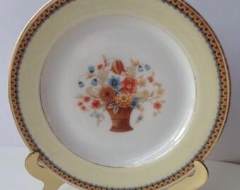 Sulgrave Bavaria Floral Basket Plate