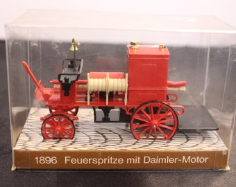 Vintage 1896 Fire Fighting Vehicle with Daimler Engine  Mercedes Benz Feuerspritze mit Daimler-Moter