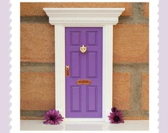 Tooth Fairy magical door. Purple Chelsea