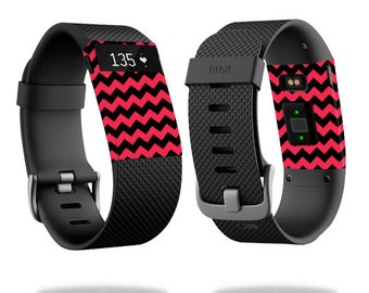 Skin Decal Wrap for Fitbit Blaze, Charge, Charge HR, Surge Watch cover sticker Zig Zag Chevron