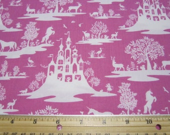 Pink Woodland Fairy Cotton Fabric Set by Dear Stella Designs