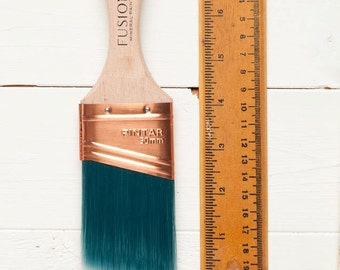 Fusion Mineral Paint Synthetic Angled Brush