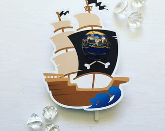 Pirate lollipop holders