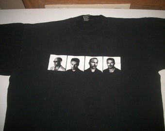 U2 tour t shirt POP 1997