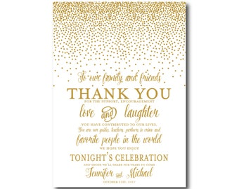 PRINTABLE Thank You Card, Printable Wedding Thank You Card, Wedding Thank You, Thank You Card, Thank You, Wedding Card, Thanks Note #CL116