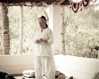 Kundali  yoga Ibiza white tunic