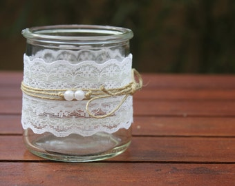 Candle range 2 |mariage country chic|