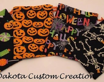 Individual Halloween Treat Bags - Halloween Party Favor Bags - Gift Halloween Treat Bags - Small Halloween Treat Bags