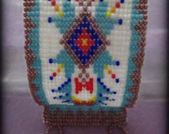 Beaded Native inspired bracelet