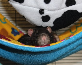 Small animal hammock (rat, hamster, guinea pig, ferret)