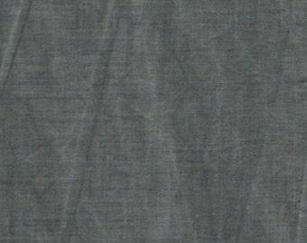 Dark Grey Aged Muslin Fabric Yardage.  Marcus Brothers. Vintage Look Muslin Fabric. Cotton Muslin Fabric. Grey Fabric. Cottage Chic Fabric.