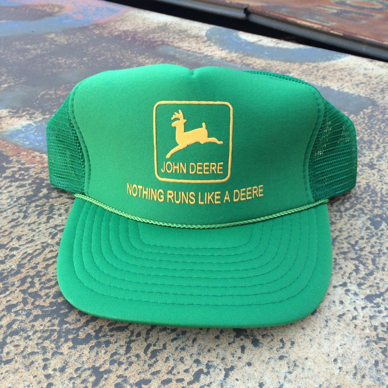 John Deere Trucker Hat Vintage John Deere By