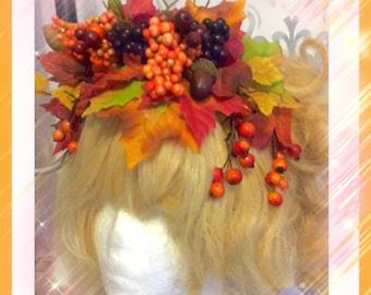 Beautiful autumn headgarden