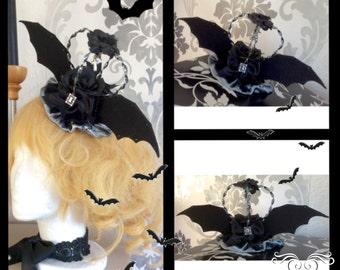 Cool Batwings Crown for Halloween!