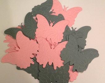 16 Butterfly die cuts