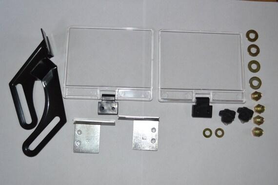 Bench Grinder Eye Shield And Bracket