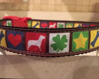 """Dog Da Afternoon Large and Medium dog collar 1"""""""