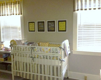 Custom Made Nursery Bedding with Blanket