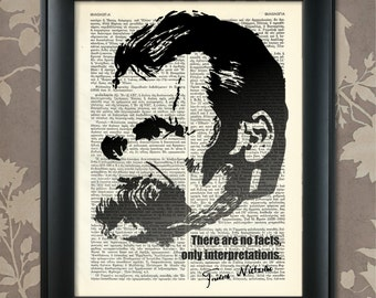 Friedrich Nietzsche, Nietzsche quote, Nietzsche print, Nietzsche art, Nietzsche poster, Nietzsche decor, Nietzsche wall art, Nietzsche gift