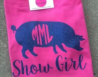Show Girl Glitter Shirt