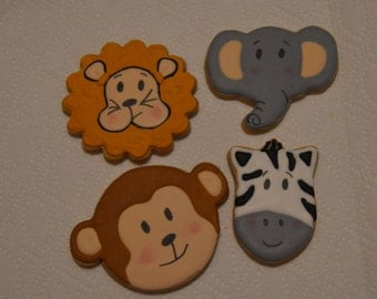 animal zoo cookies