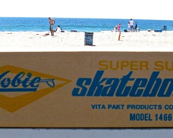 "Reproduction 1960s Hobie Super Surfer 25"" Skateboard Box"