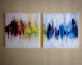 Abstract colourful