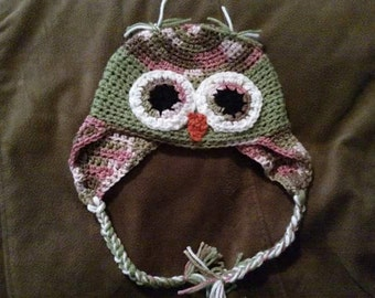 Baby / Toddler Owl Hat