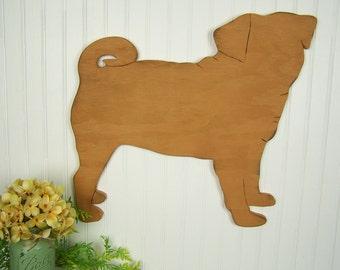 Pug Decor Pug Wall Art Pug Lover Gift Pug Art Wooden Sign Dog Decor Dog Wall Art Wood Dog Wall Art Dog Decoration Dog Lover Gift Dog Sign