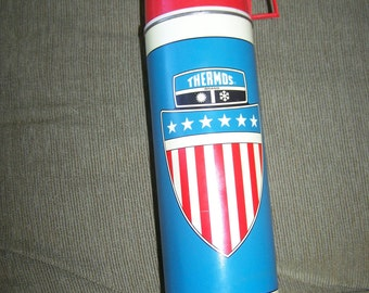 Vintage 1975 King Seeley Thermos bottle 2442 very nice and Large