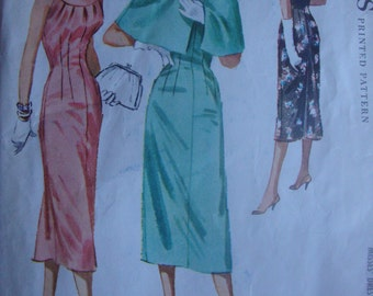 McCall's Pattern #4113 1957 Bust 34