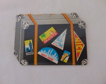 paper needle booklet  suitcase