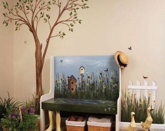 Mural Magic: A Shady Seat Digital Download 820393
