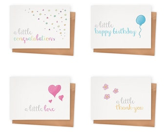 Little Notes Mini Cards