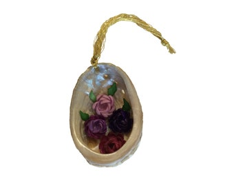 Purple Abalone Seashell Ornament...