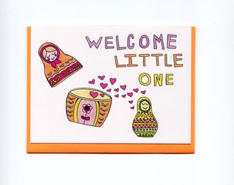 Little One Greeting Card (New Baby)